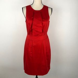 Andrew Marc Bright Red Cocktail Dress Size 6